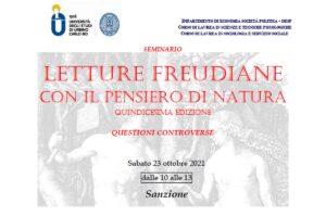 Letture Freudiane a Urbino - Sanzione @ Aula Amaranto di Palazzo Battiferri (Economia)